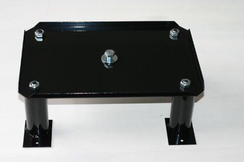 SafePost Stativ 300 A zum Aufschrauben schwarz Stativ für Briefkasten 65, 70-5, 80 und 95 LED