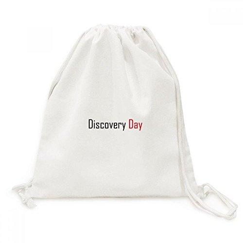 DIYthinker Feiern Sie Kanada-Tag der Entdeckung Segen Leinwand Rucksack Reisen Shopping Bags -