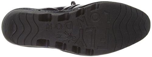 FLY London Pert Damani Damen Desert Boots Schwarz (Black 025)