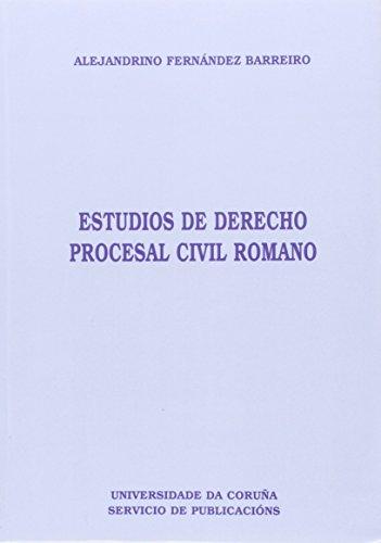 Estudios de Derecho Procesal Civilromano (Homenajes)