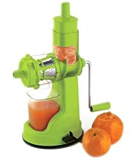 RB Fruits and Vegetable Juicer with Steel Handle (Green)