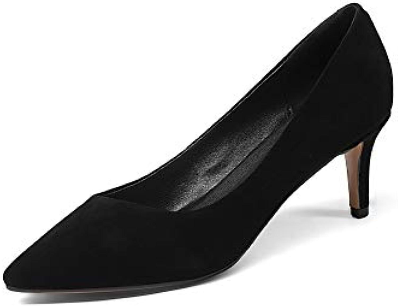 AdeeSu SDC06052,    s Compensées Femme - Noir - Noir, 36.5B07HGC8QHTParent 222d4b