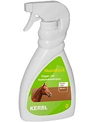 KERBL MuscaBlock Spray Anti-Mouches pour Cheval 500 ml