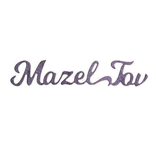 Masel Tov Sentiment die cut, Hebräisch Words sterben-Metall schneiden sterben für Grußkarten, Scrapbooks, Arztausstattung, Papier,-judaic Congrats Wort sterben von Matty 's, Joy -