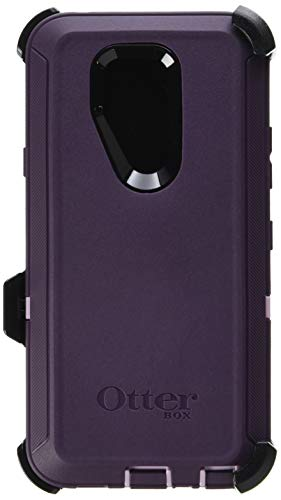 OtterBox Defender Series Cell Phone Case for LG G7 ThinQ - Purple Nebula (Winsome Orchid/Night Purple)