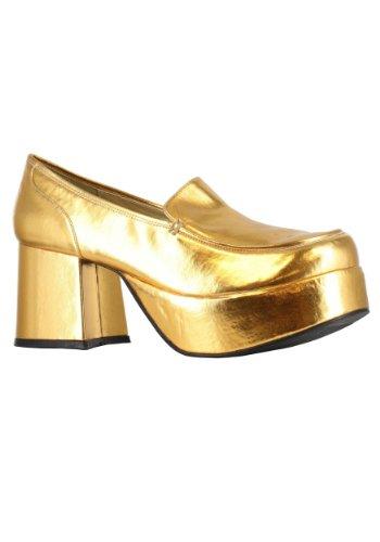 Ellie Shoes 213822 Gold-Pimp Adult Schuhe - Gold - Medium - 10-11