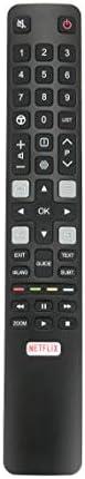 جهاز تحكم عن بعد اليميتي RC802N YUI1 ARC802N لتلفاز تي سي ال 49C2US 55C2US 65C2US 75C2US 43P20US 50P20US 55P20
