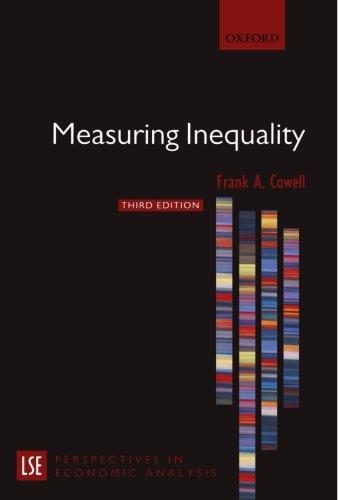 MEASURING INEQUALITY THIRD EDITION (London School of Economics Perspectives in Economic Analysis)