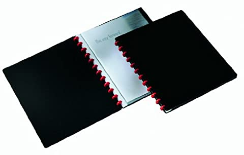 Durable Duralook Easy Display Book with 20 Removable Pockets A4