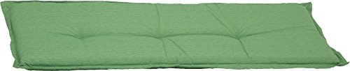 Bankauflage 3-Sitzer Sitzkissen ca. 145x45x6 cm hellgrün meliert