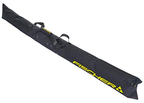 Fischer Unisex - Erwachsene Skicase Eco XC NC 1 Pair, schwarz, 195 cm