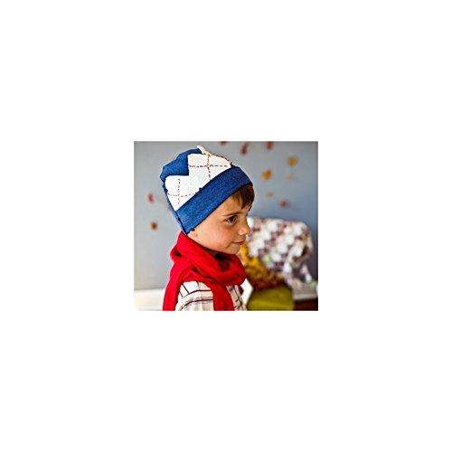 Bonnet garçon en coton fin modèle bleu royal