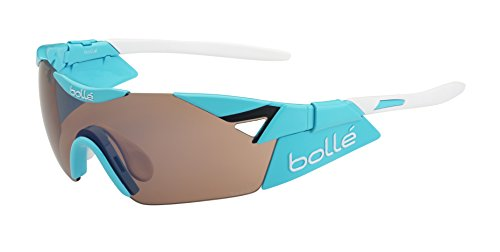 bollé Sonnenbrille Herren 6th Sense S bunt Shiny Blue Modulator Rose Gun Oleo AF Taille M/L