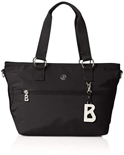 Bogner Damen Verbier Gesa Handbag Shz Henkeltasche, Schwarz (Black), 16x22x35 cm