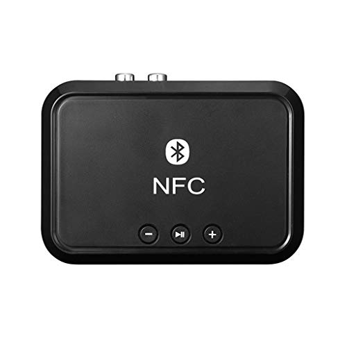 Altsommer Bluetooth Transmitter, Bluetooth Empfänger Wireless Adapter mit 3.5mm AUX/RCA Autoradio NFC/USB Disk Musik 2 in1 Wireless Audio Adapter für Kopfhörer, TV oder Home Sound System