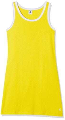 Petit Bateau Robe SM 43303, Vestido para Niñas, Amarillo (Shine 40) 6 años