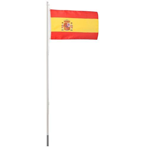 ultranatura-200100001031-pennone-62-m-con-bandiera-150-x-90-cm-spagna