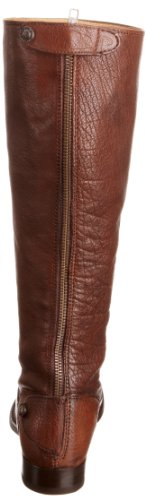 Frye Mellissa Button Back Zip, Stivali alti donna Brown