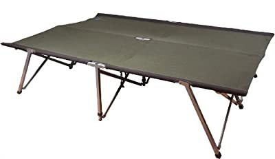 Kampa Folding/portable Together Double Camp Bed Camping - cheap UK Bunkbed store.