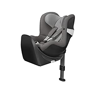 CYBEX Gold Sirona M2 i-Size Car Seat, Incl. Base M, From Birth to approx. 4 years, Up to Max. 105 cm Height, Manhattan Grey   8