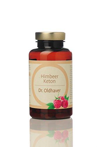 Dr. Oldhaver Himbeer Keton (60 Kapseln) | Gewichtreduzierung | Laktosefrei & Glutenfrei | Frei von Farbstoffen | Premium Qualität | Mit Apfelessig, Apfelpektin, Grüner Tee,