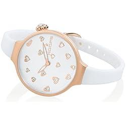HOOPS Uhren Icon Hearts Damen Uhrzeit Weiss - 2562LL-02