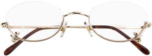 Lesebrille/Lesehilfe Schminkbrille Beauty in gold inkl. Brillenetui in Stärke +2,50 dpt
