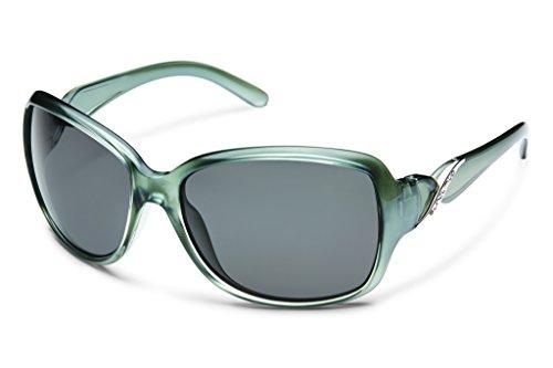 Suncloud Weave S-WEPPGYSM Polarisierte Linse Rauch zurück Farbe Polycarbonat Sonnenbrille