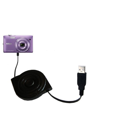 compact-and-retractable-usb-power-port-ready-charge-cable-designed-for-the-nikon-coolpix-s3500-and-u