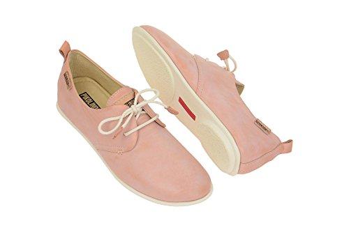 Pikolinos Calabria 917 Damen Schnürhalbschuhe Pink