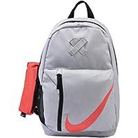 Nike Niños funneln esquina Backpack, todo el año, infantil, color gris, tamaño talla única