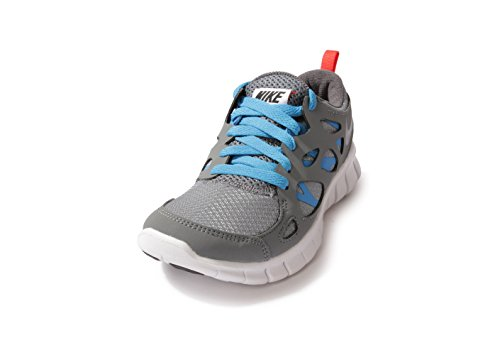 Nike Free Run 2 (Gs), 443742-021, Unisex - Kinder Laufschuhe Training Grau