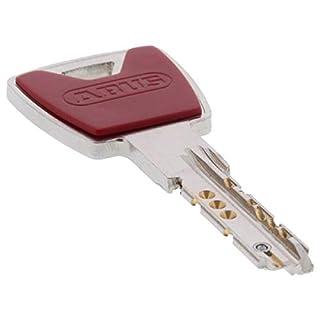 ABUS XP20S Ersatzschlüssel Zusatzschlüssel - alle Schließungen von 000001DXPY bis 932363DXPY - 12 verschiedene Farben - Anfertigung auf Ihre Schließung - Schlüsselkappe in Rubinrot