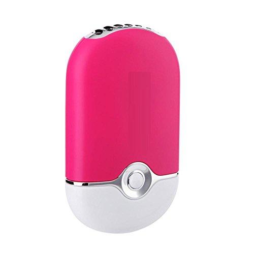 Ventilador USB Aire Acondicionado Mini Cargador PortáTil De Bolsillo Aromaterapia Aire Acondicionado...