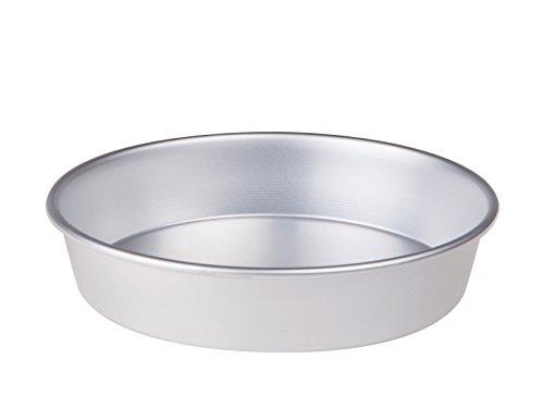 Pentole Agnelli – Konische Kuchenform aus Aluminium mit Rand (Höhe: 6cm) 30 cm