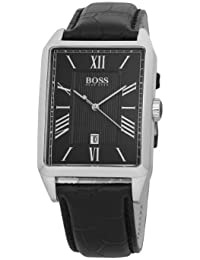 Hugo Boss Herren-Armbanduhr Analog Quarz Leder 1512425