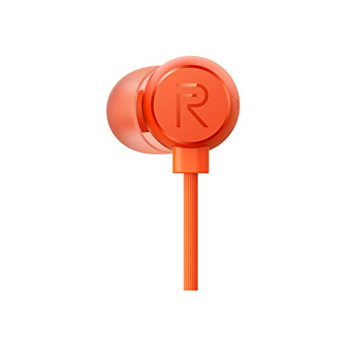 Realme Buds 2 with Mic for Android Smartphones (Orange) Image 2