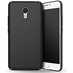 EIISSION Meizu M3 Note Case,Ultra slim and light soft matte surface painting protective Phone Case (Black)