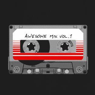 Awesome Mix Vol. 1 - Stofftasche / Beutel Oliv