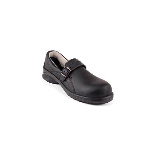 Gaston Mille - Chaussures de sécurité femme gamme Flowergrip CAMELIA NOIR S2 SRC Noir