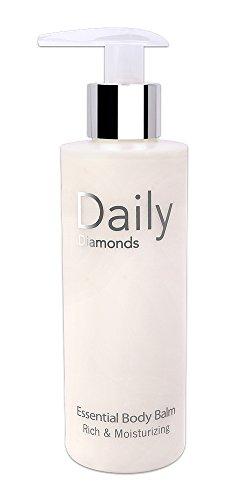 Daily Diamonds Essential Body Balm - 200 ml - Lotion pour le corps anti-âge Peaux Sèches sans paraben