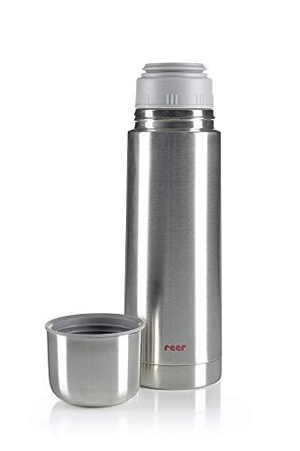 reer Edelstahl Isolier-Flasche 500ml - klein, handlich, ideal fürs Baby