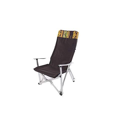 NAN® De Plein Air Alliage D'aluminium Gras Chaise Pliante Fauteuil Chaise De Pêche Chaise Longue Portable Chaise De Pause Déjeuner