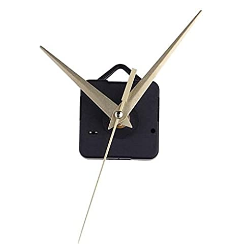 Atdoshop(TM) Yellow Hands Simple DIY Quartz Wall Clock Movement Mechanism Replacement Parts Kit