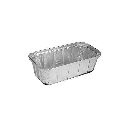 HFA 4044-35-500 Aluminum Foil 1.5 Lb. Loaf Pan - 500 / CS by HFA 1.5 Lb Loaf Pan