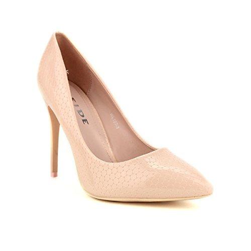 Cendriyon, Escarpin Pink écailles WEIDE Chaussures Femme Rose