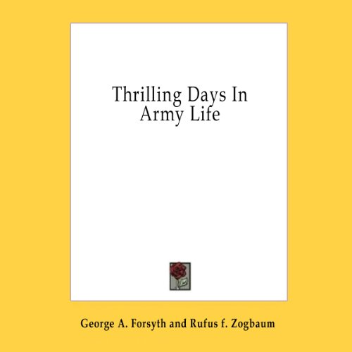 Thrilling Days in Army Life  Audiolibri