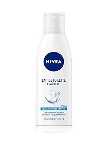 Nivea Lait de Toilette Fraicheur Peaux Normales à Mixtes 200 ml - Lot de 2