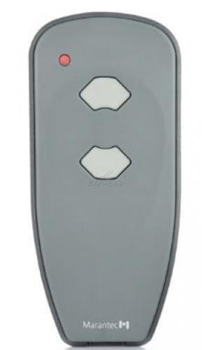 Marantec Digital 382 Mini Handsender 433 MHz * Nachfolger Digital 302 * - Funksender Fernbedienung Garagentoröffner 122421