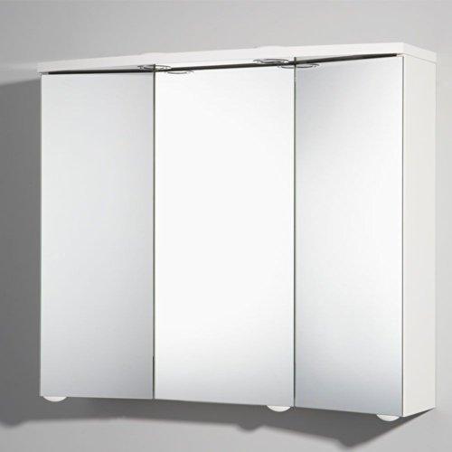 #Spiegelschränke Bad 75 x 65 cm weiß Pharao24#